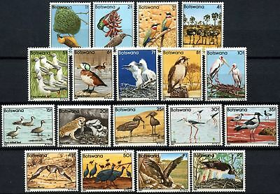 Botswana 1982 SG#515-532 Birds, Definitives MNH Set #D75431