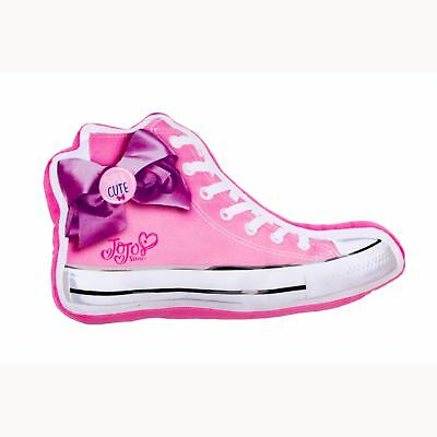 Jojo Siwa Super Sneaker Shaped Soft Cushion Kids Girls Bedroom Pink