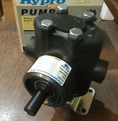 Hypro 5330C-CX Twin Piston Pump -500 PSI Solid Shaft NEW IN BOX
