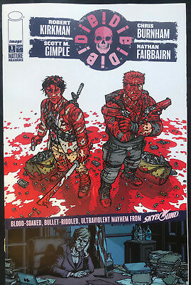 Image Comics/skybound Die!die!die! #1 Robert Kirkman Assorted Speech Bubbles