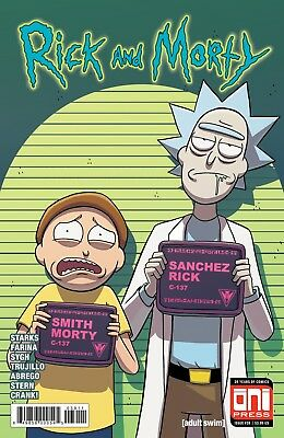 RICK AND MORTY (2015) #39 - Cover A - New Bagged