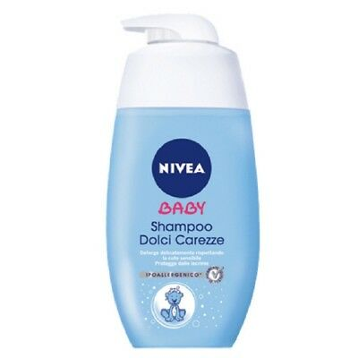Nivea Baby Oil Dolce Nourishing Hypoallergenic Nourishes Cleanses 500 Ml