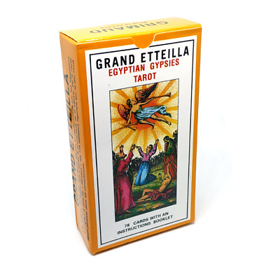 Grand Etteilla Egyptian Gypsies Tarot Cards Deck English Version FAST TO UK