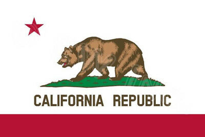 Flagge Kalifornien Californa Republic NEU 150 x 90 Groß TOP