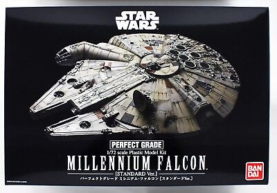 "Bandai Star Wars 1/72 Perfect Grade Millennium Falcon ""Standard Version"""