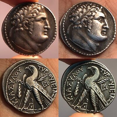 Museum Quality Old Unique Silver King Antique Coin
