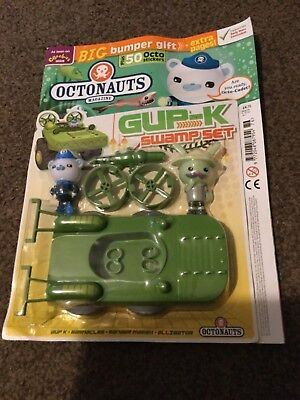 OCTONAUTS MAGAZINE ISSUE 76 Gup-k swamp set