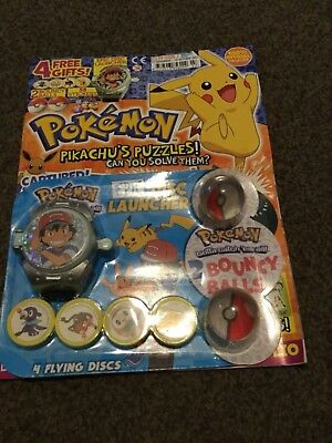 POKEMON MAGAZINE ISSUE  7 4 free gifts