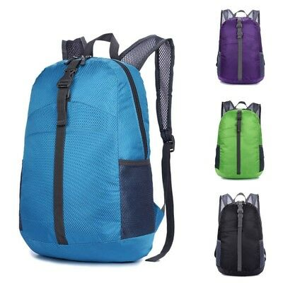20L Waterproof Folding Backpack Ultralight Outdoor Camping Travel Daypack Bag