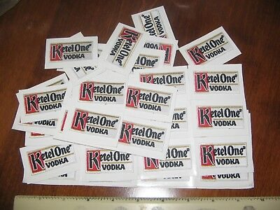 (20) Ketel One Vodka Distillery Liquor Embroidered Logo Patches Dealers Lot