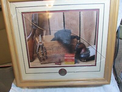 """2001 Ducks Unlimited Canine Club """"drake"""" Numbered Picture W Coa Black Lab"""