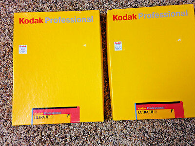 Kodak Photographic paper 2 boxes- 50 sheets  8x10in