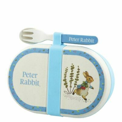 Peter Rabbit Snack box cutlery set New Baby Christening Gift