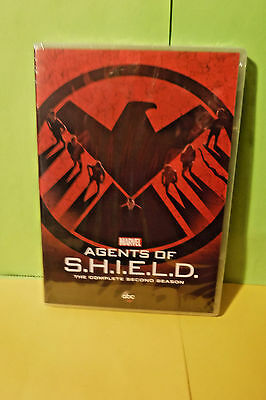 Brand New/Sealed 5 Dvd Set! Marvel Agents Of Shield The Complete Second Season!