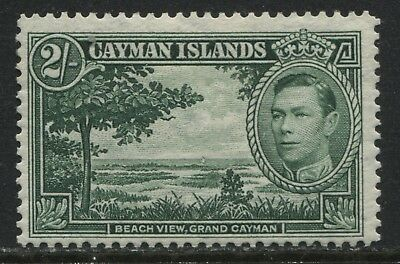 Cayman Islands KGVI 1938 2/ mint o.g.