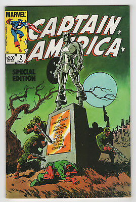 Captain America Special Edition #2 (Mar 1984) 113 [Our Lover Story 5] Steranko c