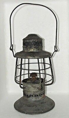 Antique Keystoneware Keystone Ware Nautical ? Navy ? Lantern