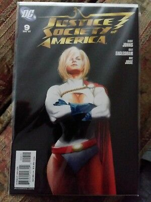Justice Society of America (3rd Series) #9A 2007 VF/FN