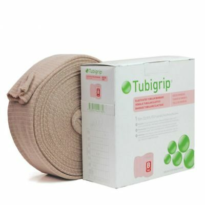 Tubigrip Elasticated Tubular Bandage Natural, Size F, 10 Yds, *BRAND NEW!*