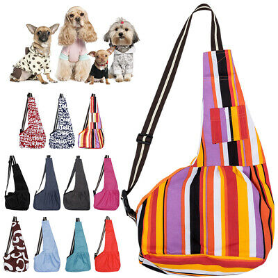 Pet Sling Dog Cat Small Puppy Carrier Outdoor Travel Tote Shoulder Bag Backpack