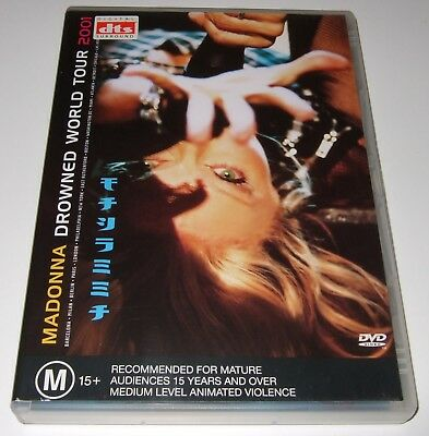 Madonna - Drowned World Tour 2001 (DVD, 2001)