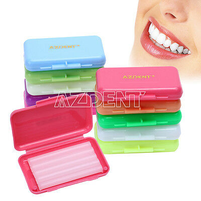 Hot! Dental Orthodontics Wax For Brackets Braces gum Irritation 6 Scents Flavors