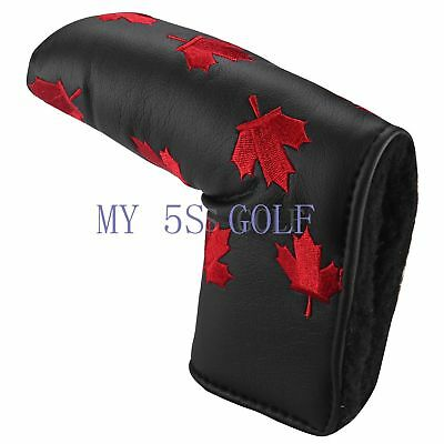 1pc Canada Flag Maple Leaf Putter Head Cover Headcovers For Scotty Cameron Ping