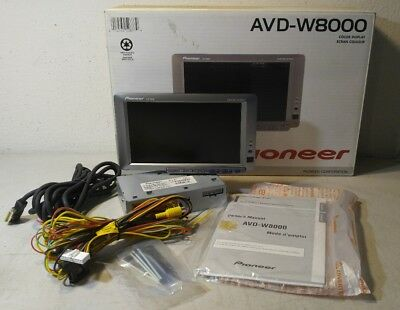 Pioneer AVD-W8000 8-Inch LCD Monitor - Never Installed - *Works* - WATCH VIDEO