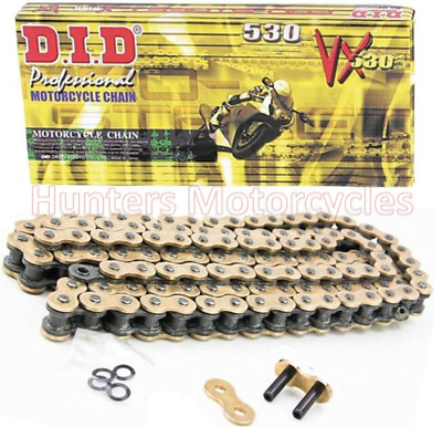 530 x 110 DID Gold X-Ring Heavy Duty Chain (530VXGB110)