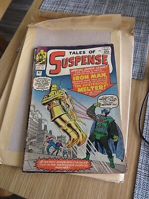 Tales of Suspense # 47 The Mysterious Melter grade around 5 Fine scarce book