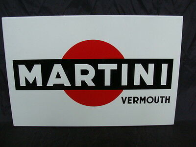 Rim Insegna Martini Vermouth Liquori Bar Old Sign Promo Italy