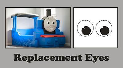 Little Tikes Thomas the Tank Engine Bed Replacement  Eye Stickers