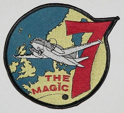 Aufnäher Patch Marine MFG 3 The Magig 7 Breguet 1150 Atlantic ........A2344