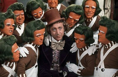 "Set Of 2 Gene Wilder Willy Wonka 8"" x 6"" Photo Prints  Charlie Chocolate Factory"