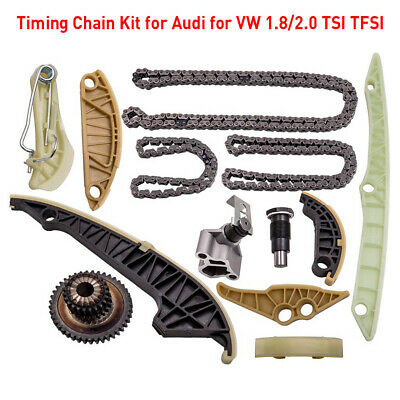 Timing Chain Kit For Audi A3 A4 A5 A6 VW GOLF EOS Passat SKODA 1.8 2.0 TFSI TSI