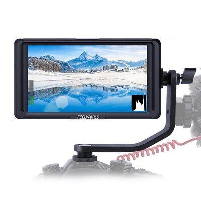 Feelworld F6S 5 Inch IPS Full HD 1920 x 1080 Support 4K HDMI DSLR Camera Monitor
