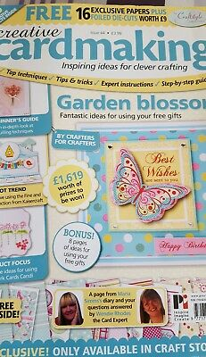 Creative cardmaking magazine with toppers & papers