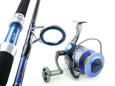 SAMBO Carbon 6'3 37kg Spinning Game Jigging Fishing Rod and Reel Combo Presale