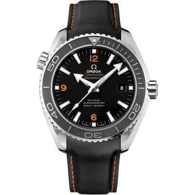 20MM Rubber strap & clasp for 42mm Omega Seamaster Planet Ocean Co-Axial 600m