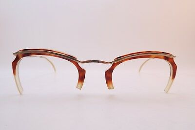 Vintage 50s gold filled eyeglasses frames men's SML/MED women's MED France