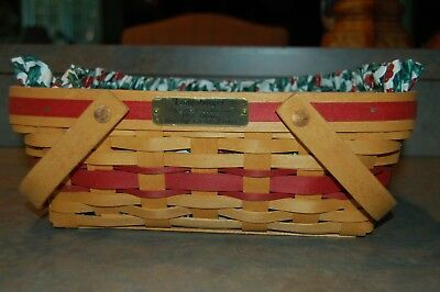 Longaberger, Christmas Collection, 1996 Edition, Holiday Cheer Basket