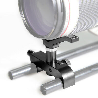 SmallRig 1676 Lens Support Mount Rod Clamp with quick release railblock/15mm rod