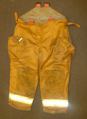 48X28 Firefighter Pants Turnout Bunker Fire Gear Securitex P889