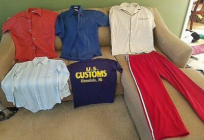 Mens medium clothes mixed lot of 6 (m-xl)