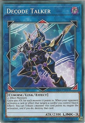 Yu-Gi-Oh: DECODE TALKER - YS18-EN043 - Common Card - 1st Edition