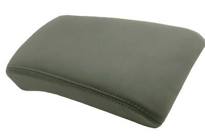Center Console Armrest Real Leather Cover for Chevrolet Traverse 09-16 Gray