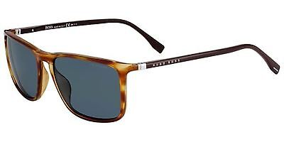 c7236c4e061 HUGO BOSS SUNGLASSES 0665 N S 086 HA Dark Havana Brown Gradient ...