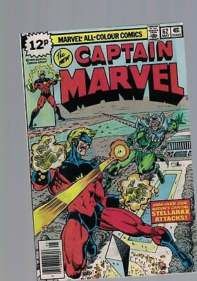 Marvel Comics The New CAPTAIN MARVEL NO 62 May 1979