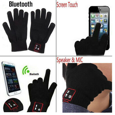 Bluetooth Gloves Wireless Winter Gloves Hands Call Talking Music Touch Screen