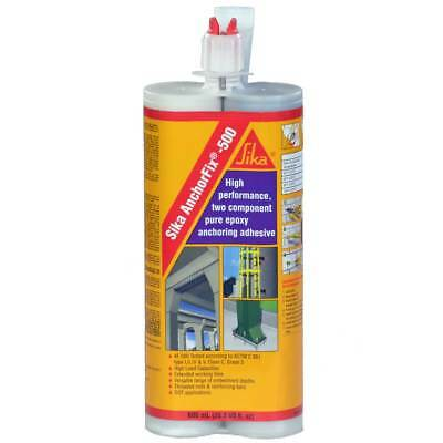 Sika AnchorFix 500,  20 oz 2 Component Epoxy, High Performance, Concrete Anchor